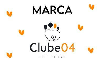 A tipografia delicada e a personalidade da marca Clube 04